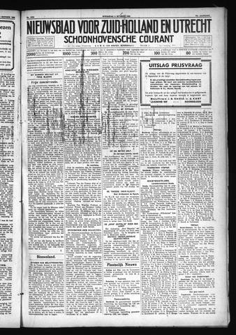 Schoonhovensche Courant 1930-10-08