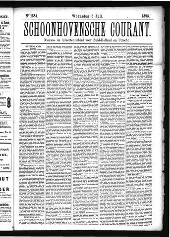 Schoonhovensche Courant 1893-07-05