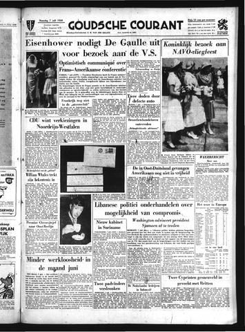 Goudsche Courant 1958-07-07