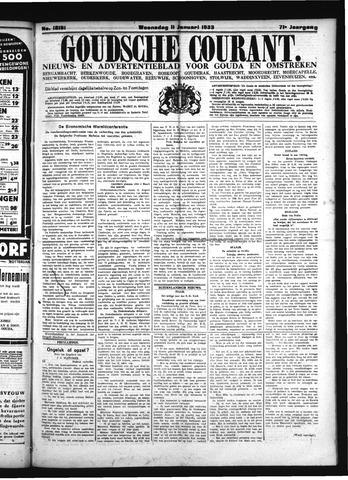 Goudsche Courant 1933-01-11