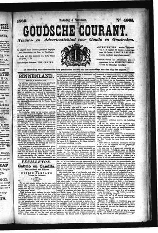 Goudsche Courant 1889-11-04