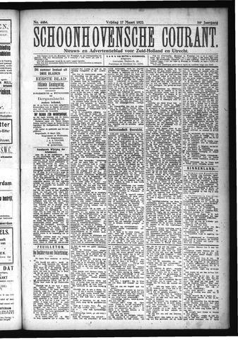Schoonhovensche Courant 1922-03-17