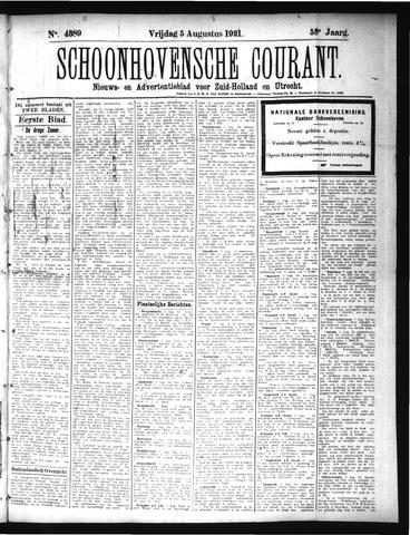 Schoonhovensche Courant 1921-08-05
