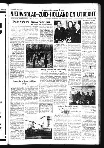Schoonhovensche Courant 1960-01-11