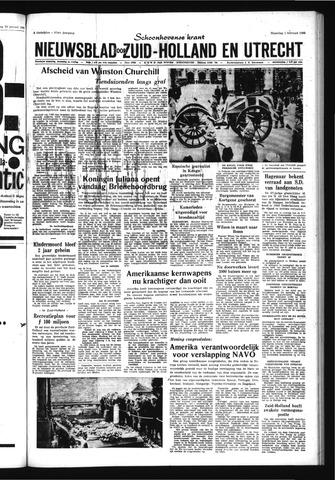 Schoonhovensche Courant 1965-02-01