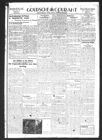 Goudsche Courant 1943-12-22