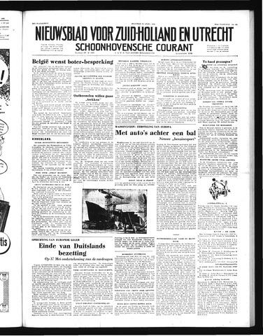 Schoonhovensche Courant 1952-04-21