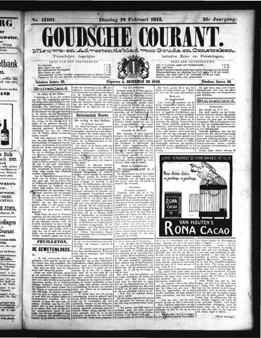 Goudsche Courant 1913-02-18