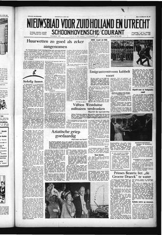 Schoonhovensche Courant 1957-06-05
