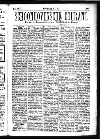 Schoonhovensche Courant 1907-07-06