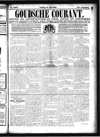 Goudsche Courant 1928-07-27