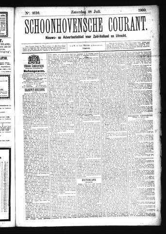 Schoonhovensche Courant 1900-07-28