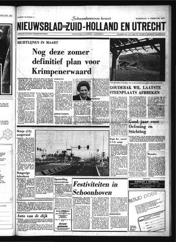 Schoonhovensche Courant 1975-02-12