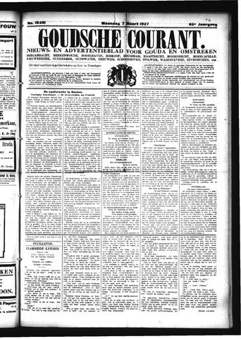 Goudsche Courant 1927-03-07