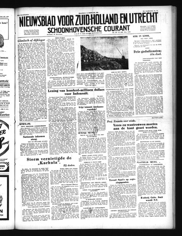 Schoonhovensche Courant 1950-02-13