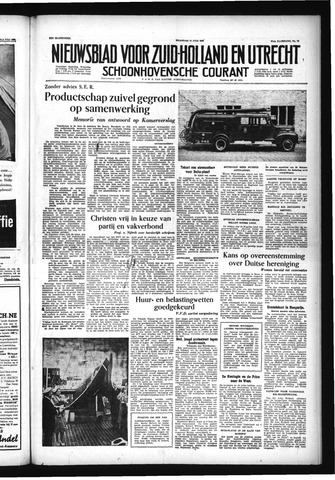 Schoonhovensche Courant 1955-07-11