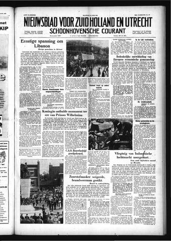 Schoonhovensche Courant 1958-06-16