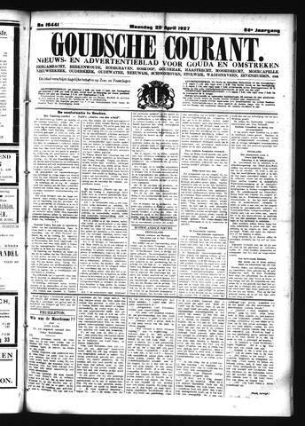 Goudsche Courant 1927-04-25