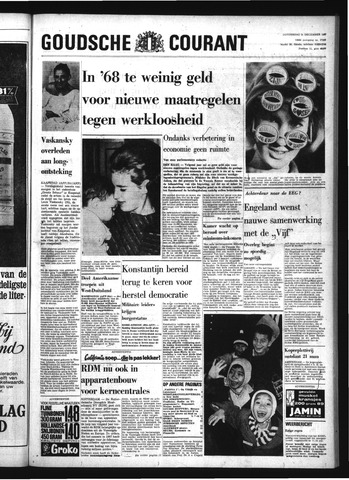 Goudsche Courant 1967-12-21