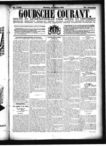 Goudsche Courant 1931-03-24