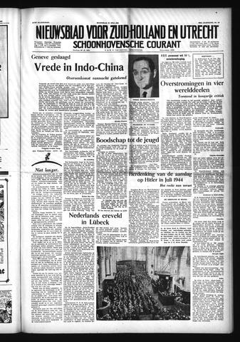 Schoonhovensche Courant 1954-07-21