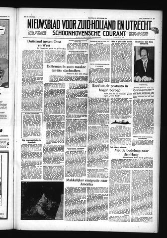 Schoonhovensche Courant 1955-09-26