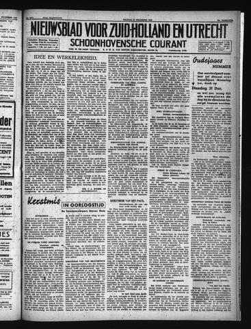 Schoonhovensche Courant 1940-12-27