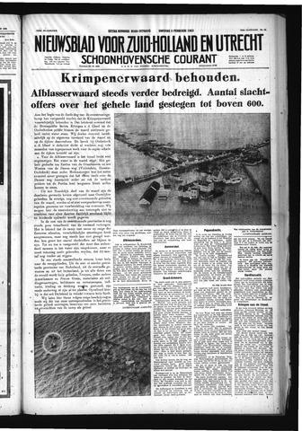 Schoonhovensche Courant 1953-02-03
