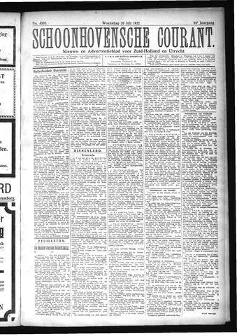 Schoonhovensche Courant 1922-07-26