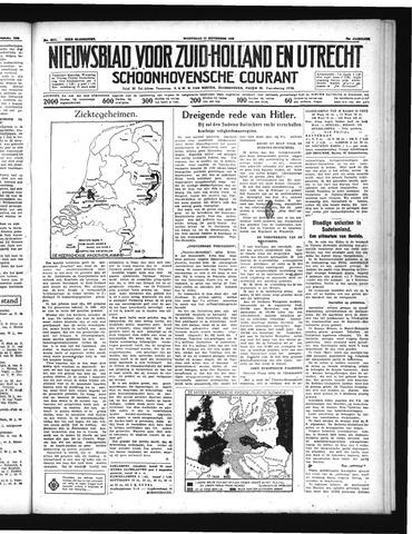 Schoonhovensche Courant 1938-09-14
