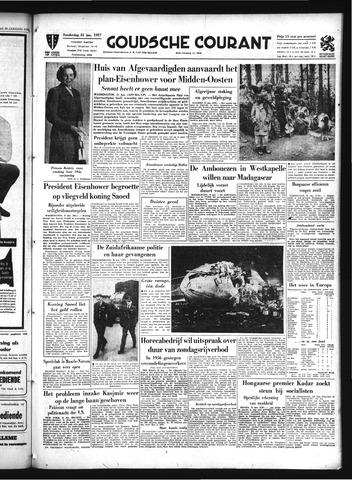 Goudsche Courant 1957-01-31