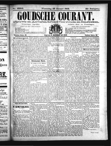 Goudsche Courant 1913-01-29