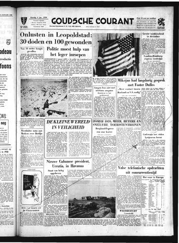 Goudsche Courant 1959-01-06