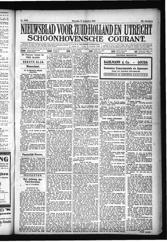 Schoonhovensche Courant 1928-08-13