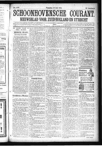 Schoonhovensche Courant 1926-07-19