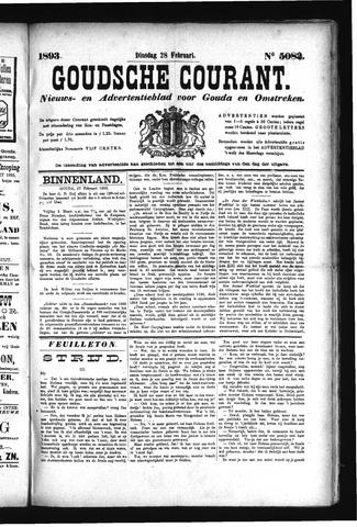 Goudsche Courant 1893-02-28