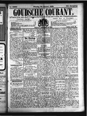 Goudsche Courant 1916-01-25