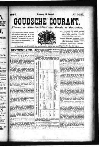 Goudsche Courant 1884-01-16