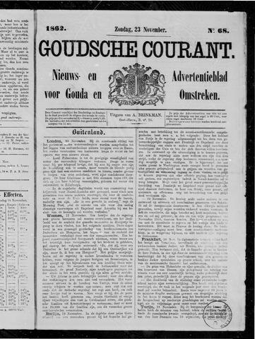 Goudsche Courant 1862-11-23