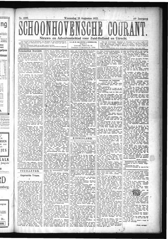 Schoonhovensche Courant 1922-08-23