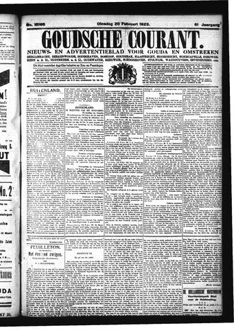 Goudsche Courant 1923-02-20