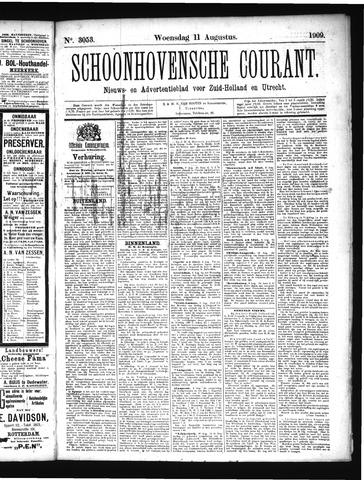 Schoonhovensche Courant 1909-08-11