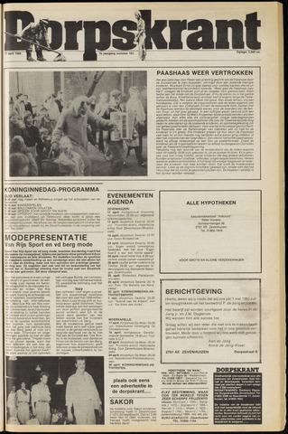 Dorpskrant 1985-04-17