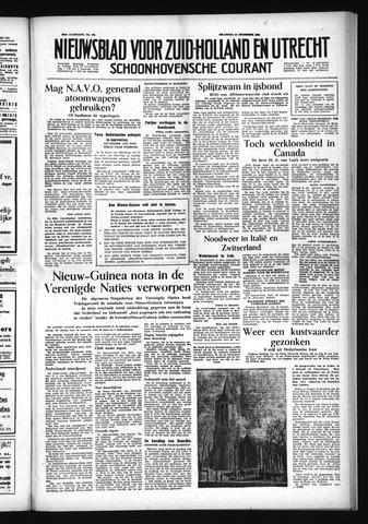Schoonhovensche Courant 1954-12-13
