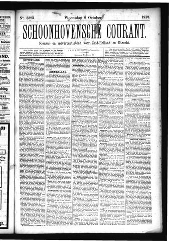 Schoonhovensche Courant 1912-10-09