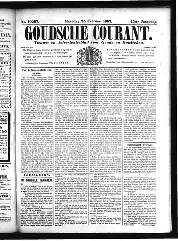 Goudsche Courant 1907-02-25