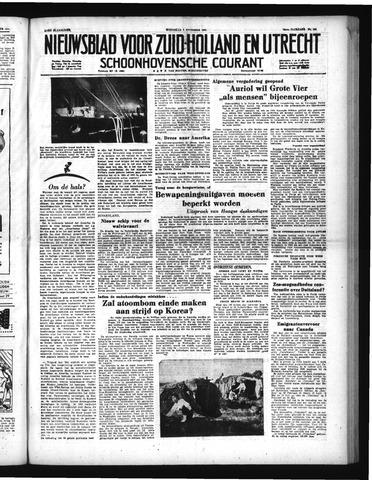 Schoonhovensche Courant 1951-11-07