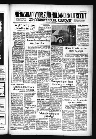 Schoonhovensche Courant 1955-08-01