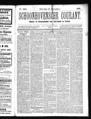 Schoonhovensche Courant 1903-11-28