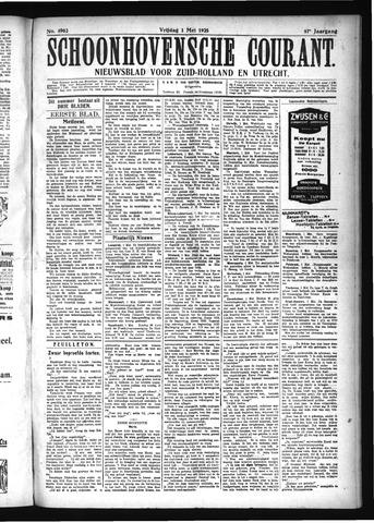 Schoonhovensche Courant 1925-05-01